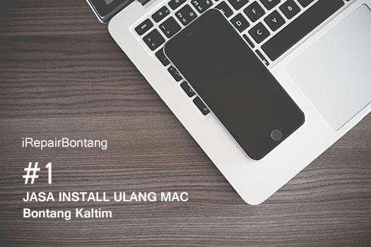 Jasa Install Ulang Mac OS X, macOS dan iOS Bontang Kaltim